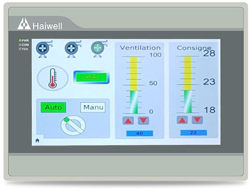 Haiwell Ethernet Cloud HMI