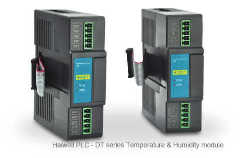 Haiwell PLC- The digital temperature and humidity module of DT series