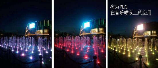 海为PLC在音乐喷泉上的应用