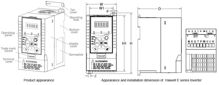 Haiwell E Series Economic Inverter